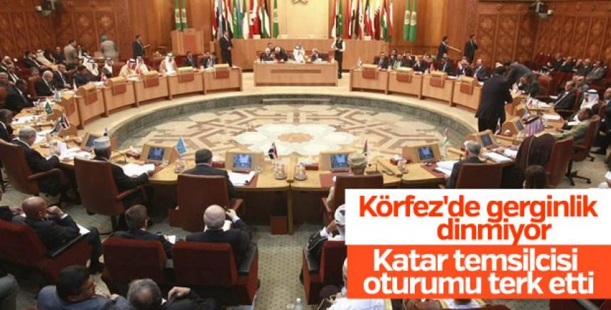 Arap Birliği toplantısında gerginlik