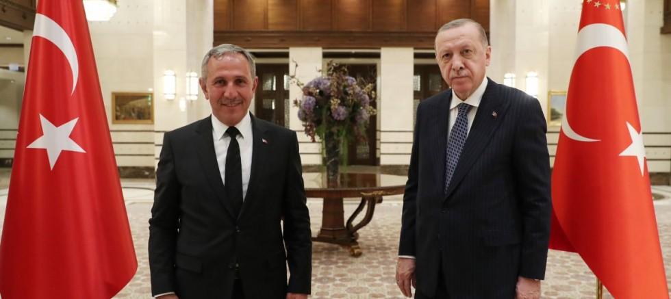 Cumhurbaşkanı Erdoğan Avrupa'daki Türk STK temsilcileriyle görüştü