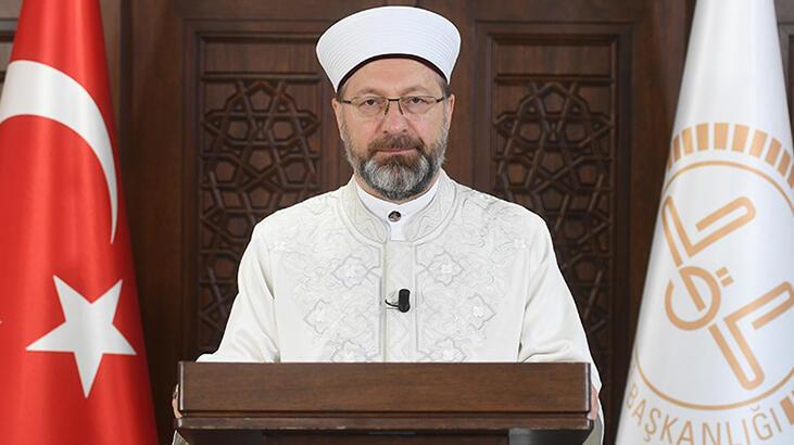 Diyanet İşleri Başkanı Erbaş'tan denizde boğulan din görevlisi Çıtak için başsağlığı mesajı