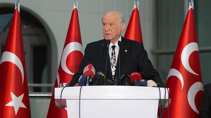 Son dakika... MHP lideri Bahçeli'den 15 Temmuz ve Ayasofya açıklaması