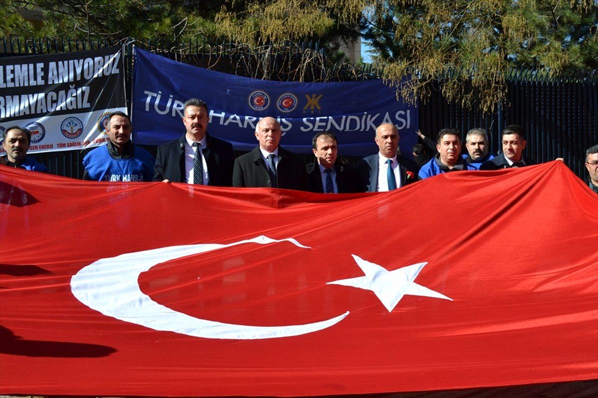 Türk Harb-İş Sendikası, Merasim Sokak şehitlerini andı