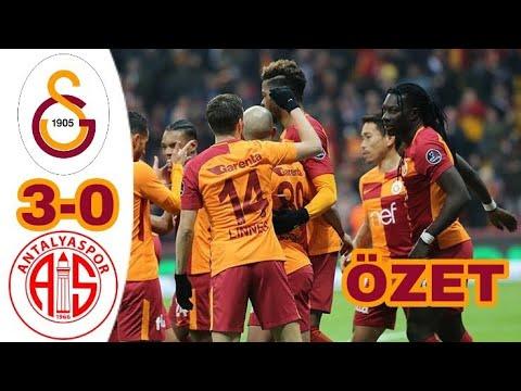 Galatasaray 3-0 Antalyaspor Maç Özeti 12 Şubat 2018